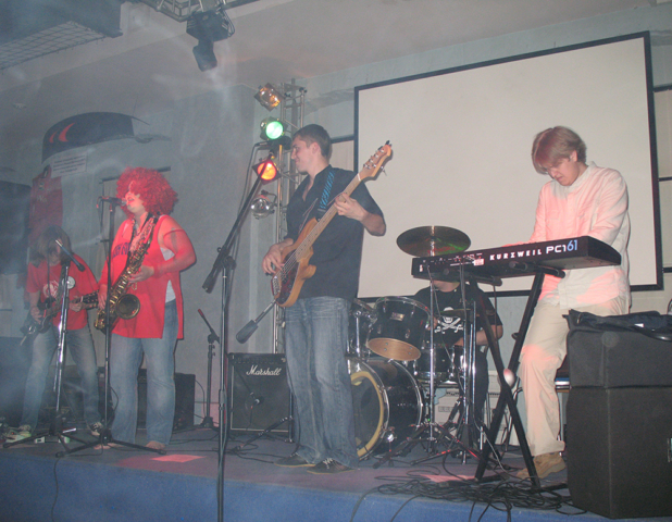 """2007, группа """"Гроза"""" на фестивале """"Паруса"""""""